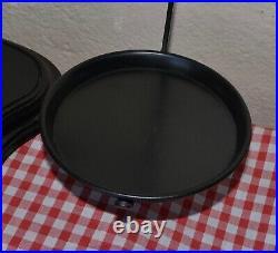 Vintage English Salter Black Beam Scales 8 Weights 4 Brass 4 Cast Iron