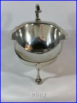 Vintage English Sterling Silver Asprey Sauce Gravy Boat