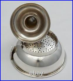 Vintage English solid sterling silver Wine Funnel, JAC, Essex made, L. 1992, 90g
