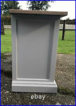 Vintage MID Century English Younger Toledo Light Grey 4 Door Sideboard Almost 7