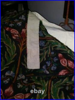 Vintage Magnificent Woven Drapes, Set Of 4, Excellent Condition, 48' x 63' Each