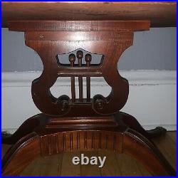 Vintage Mersman Lyle Harp Coffee table
