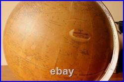 Vintage Philips 10 Inch Challenge Globe. Art Deco c1930. Desk Table Home Office