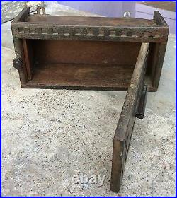 Vintage Rare Hand Crafted Wooden Victorian Dressing Drawer-English Furniture