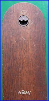 Vintage Russell Norwich English Mahogany Weather Station Stick Barometer
