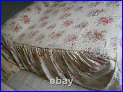 Vintage Sanderson Chintz Double Durham Bedspread Quilt