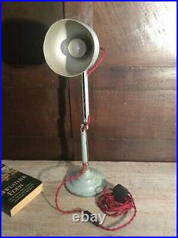 Vintage pifco table lamp desk industrial mid century English 1970s Anglepoise